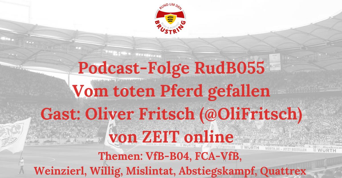 RudB055 – Vom toten Pferd gefallen – Gast: Oliver Fritsch (@OliFritsch) von ZEIT online