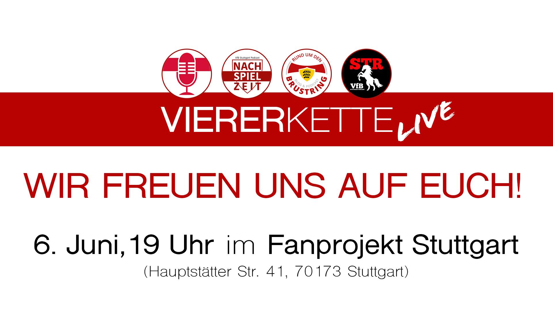 Die #VfBVIERERKETTE kommt zurück – live!