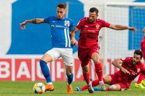 Mehrfach hatte der VfB defensiv das Nachsehen - zum Glück ohne Konsequenz. © Getty / Bongarts