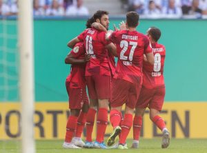 Beim Tor schaltete der VfB schneller. © Getty / Bongarts