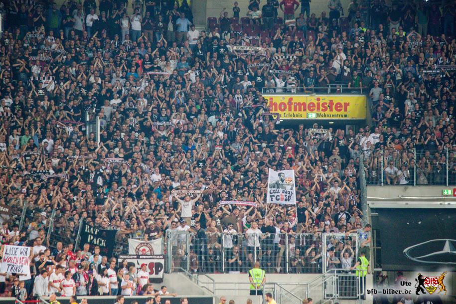 Rund um das Spiel gegen St. Pauli