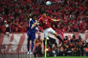 Wataru Endo (r.) im Finale der asiatischen Champions League 2017. © Getty Images Sports