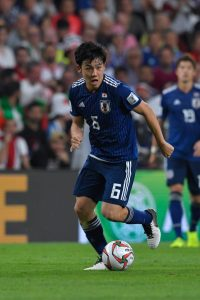 Endo im Dress der japanischen Nationalmannschaft. © Getty Images Sports