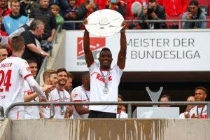 Mit Köln schaffte Nartey im Sommer den Wiederaufstieg in die Bundesliga. © Getty/Bongart