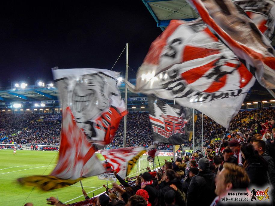 Rund um das Spiel in Bielefeld