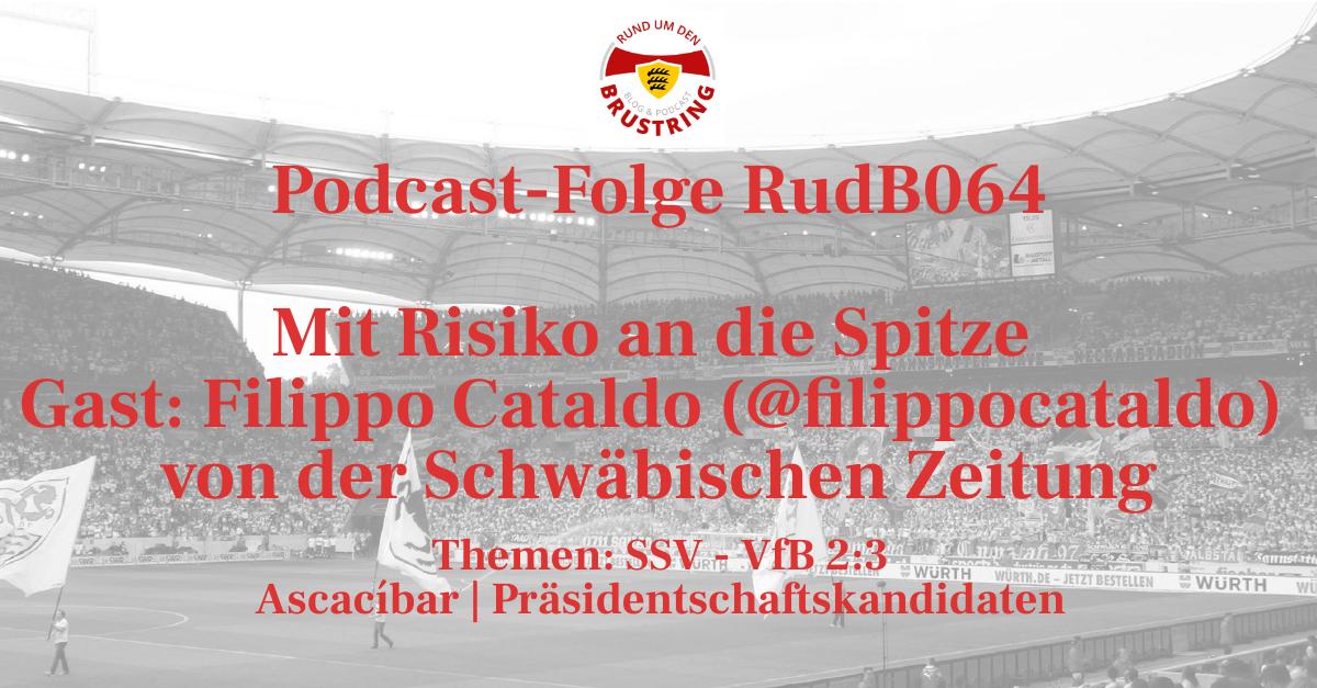 RudB064 – Mit Risiko an die Spitze – Gast: Filippo Cataldo (@filippocataldo) von der Schwäbischen Zeitung