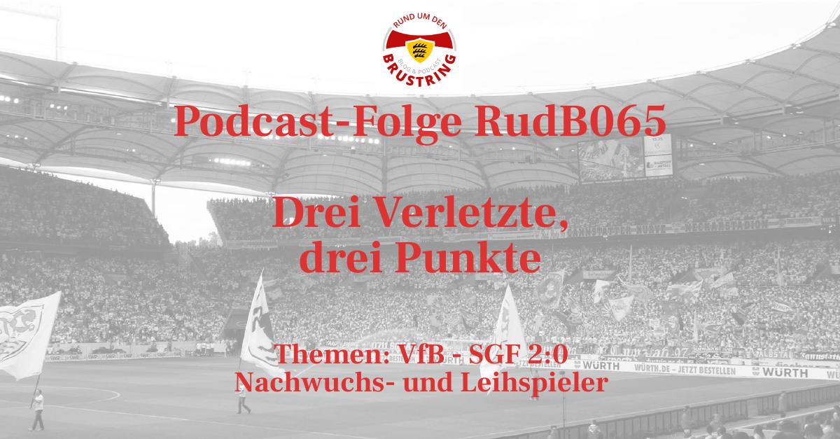 RudB065 – Drei Verletzte, drei Punkte