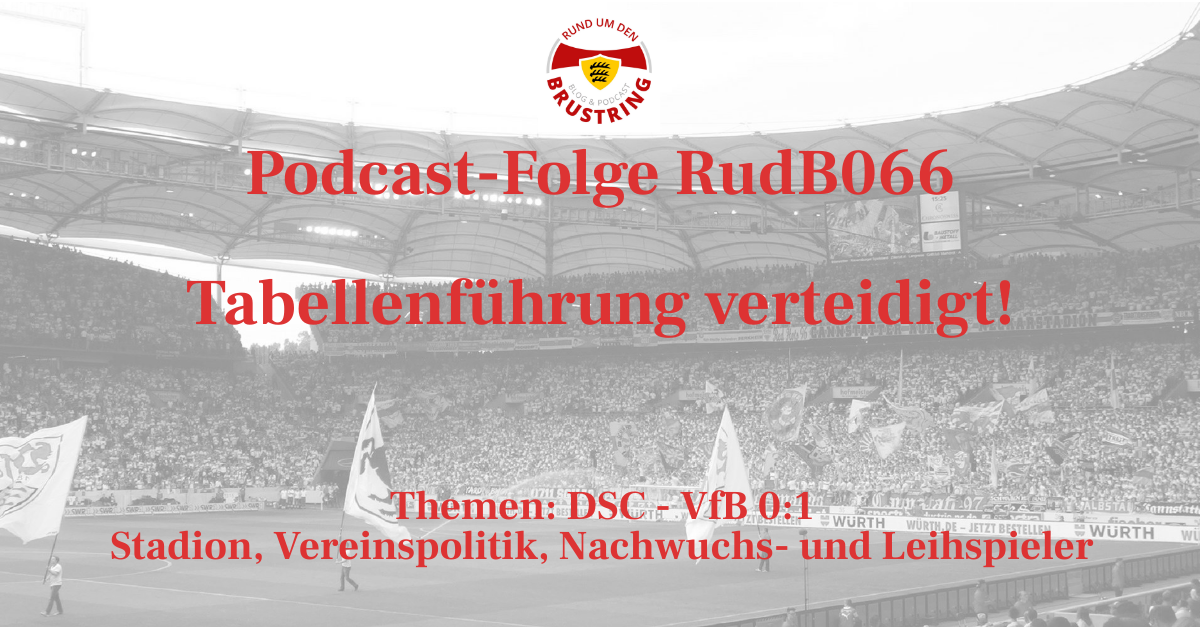 RudB066 – Tabellenführung verteidigt!