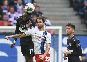 Macht Fehler nur gegen HSVs: Maxime Awoudja (l.). © Getty/Bongarts