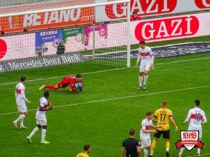 Am Ende hielten der VfB und Kobel dicht.