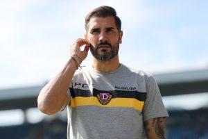 Hat bei Dynamo-Fans ein gutes Standing: Trainer Christian Fiel. © Getty/Bongarts