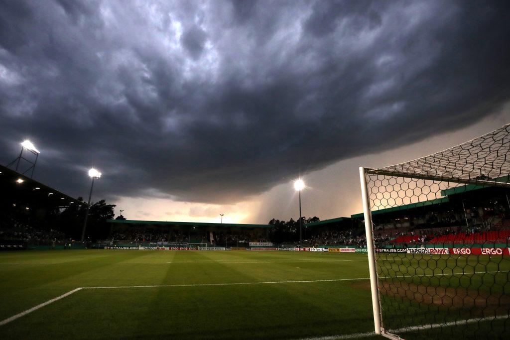 Auch dieses Mal werden die VfB-Fans im Hardtwaldstadion in der Übezahl sein. © Getty/Bongarts