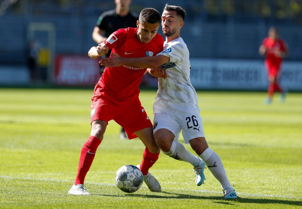 Sollte Förster ersetzen: Ex-VfB II-Spieler Besar Halimi (l.). © Getty/Bongarts