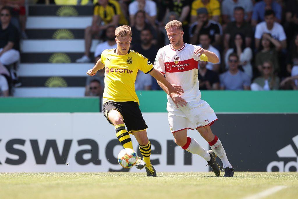 Eric Hottmann im Finale um die Deutsche A-Jugend-Meisterschaft im Mai 2019. © Getty/Bongarts
