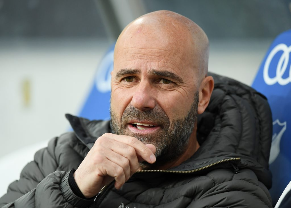 Flexibler als man denkt: Trainer Peter Bosz. © Getty/Bongarts