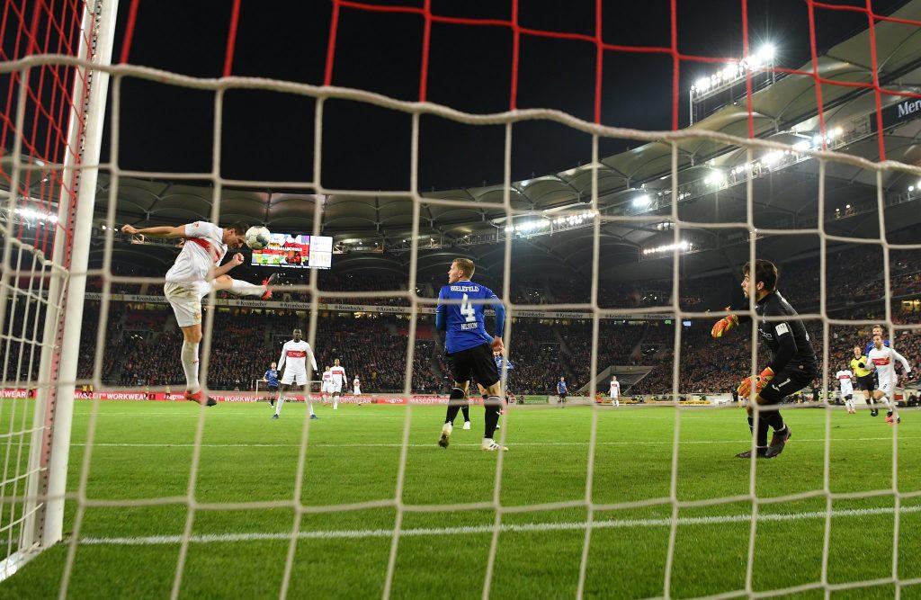 Sehenswerter Treffer von Gomez, leider zu wenig für drei Punkte. © Getty/Bongarts