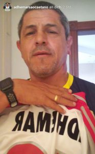 Auch in Brasilieln noch VfB-Fan: Adhemar. © Adhemar privat