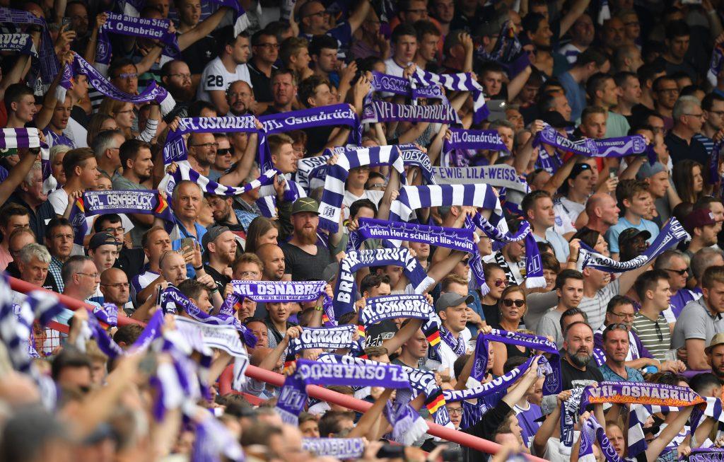 Osnabrück ist einer von fünf Zweitligisten mit Fanabteilung. © Stuart Franklin/Bongarts/Getty Images