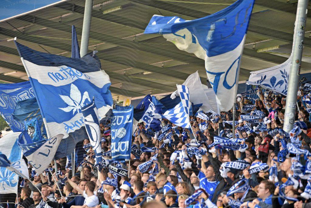 Fanabteilungen wie die in Darmstadt. nehmen auch soziale Verantwortung wahr. © Thomas Starke/Bongarts/Getty Images