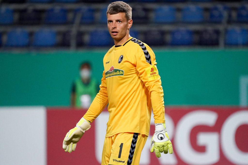 Ex-VfB-Ersatzkeeper Benni Uphoff kam in der ersten Pokalrunde zum Einsatz. Bild: © imago