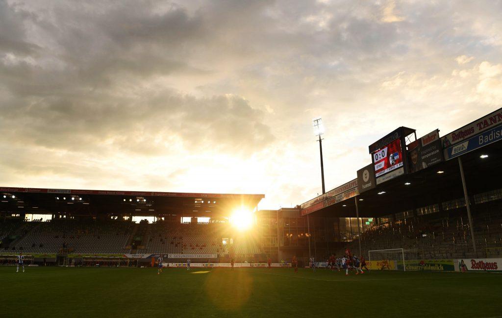 Noch nicht, aber bald ist einer der schlimmsten Gästeblöcke der Liga Geschichte. Bild: © Matthias Hangst/Getty Images
