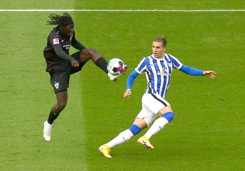 Tanguy Coulibaly überzeugte beim Bundesliga-Debüt. Bild: © Eibner-Pressefoto