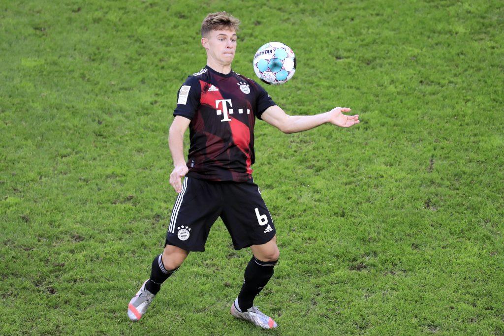 """Das """"Herzstück"""" der Bayern, Ex-VfB-Jugendspieler Joshua Kimmich, fällt derzeit verletzt aus. Bild: © imago"""