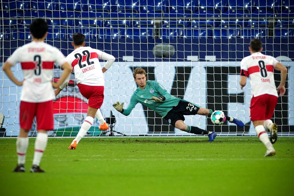 Er kann es auch in der ersten Liga. Bild: © Friedemann Vogel-Pool/Getty Images