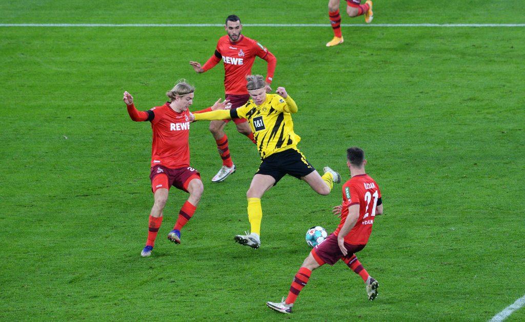 Ering Haaland ist wichtig für den BVB - und verletzt. © Uwe Kraft - Pool/Getty Images