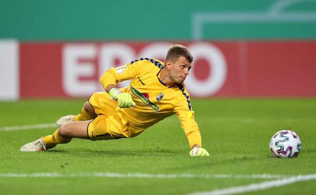 Ex-VfB-Ersatzkeeper Benni Uphoff wird gegen den VfB im Tor stehen.© Simon Hofmann/Getty Images