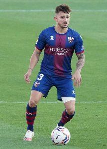 Maffeo schaffte mit Huesca den Klassenerhalt nicht. © imago
