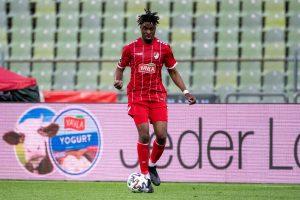 Maxime Awoudja lief in der Rückründe für Türkgücü auf. © kolbert-press/Ulrich Gamel