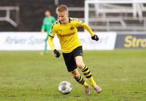 In Dortmund reichte für Führich nur für die Regionalliga-Mannschaft. Bild: imago